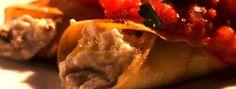 Zeste | Manicotti farcis à la ricotta et aux champignons