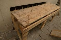 One-pallet Park Bench