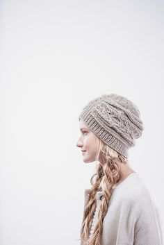 210ba06ff34 Ravelry  Sourcebook Cloche pattern by Norah Gaughan Slouch Hat Knit Pattern