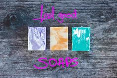 The Wema Bodycare soap line, a must try!