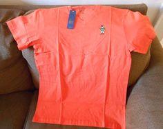 POLO RALPH LAUREN WOMEN'S Shirt  100% Cotton Orange  NEW #POLORALPHLAUREN #BasicTee