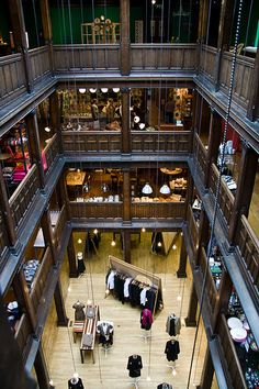 LIberty, London, England. One of my favorite shops.