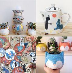 """A palavra vem do grego e significa """"terra queimada"""", mas o jeitinho de fazer pode ser brasileiro. Confira 10 artistas incríveis que criam com cerâmica!"""