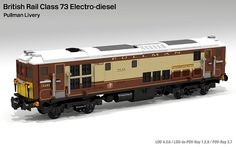 Lego BR Class 73 - Pullman Livery | Flickr - Photo Sharing!