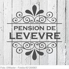 Möbeltattoo Pension de Levevre mit Ornament Shabby 02