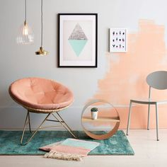 Asian Home Decor remarkable styling ideas Notable answers for a fab first rate korean home decor diy . The Ideas shared on this cool day 20181216 , Stlying Reference 3085758786 Peach Rooms, Peach Bedroom, Blue Rooms, Peach Walls, Asian Home Decor, Retro Home Decor, Diy Home Decor, Living Room Decor, Bedroom Decor