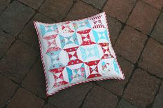 hourglass cushion