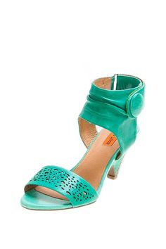 Winona Heel #Sandals by #MizMooz in #MintGreen on HauteLook