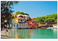 If you have chance to visited Kefalonia Island in Greece don't miss to see three most nice villages of Assos, Sami and Argostoli.