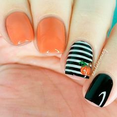 Nail art isn't an impossible task when you have the most suitable attitude to carry it off nicely. Still another approach to try out nail art would be to use cute acrylic nail designs, nevert… Cute Halloween Nails, Halloween Nail Designs, Creepy Halloween, Halloween Coffin, Halloween Ideas, Halloween Nail Colors, Halloween Acrylic Nails, Holloween Nails, Chic Halloween