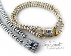 Simply Sweet Bracelet Tutorial by Carole Ohl