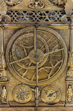 Astoronomical clock - The clock of the Emperor Maximillian II, G. Emmoser, Augsburg, 1566