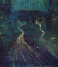 Mikalojus Konstantinas Čiurlionis, Eternity (1907)