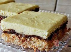 Provo a farla Dessert Bars, Dessert Recipes, German Baking, Bithday Cake, Hungarian Recipes, Sweets Cake, Italian Desserts, Food Design, Sweet Recipes