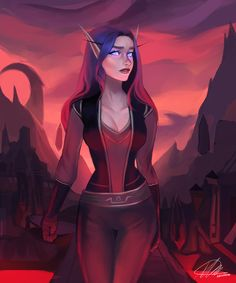 World Of Warcraft Characters, Dnd Characters, Fantasy Characters, Female Characters, Female Character Design, Character Concept, Character Art, Character Ideas, Elves Fantasy