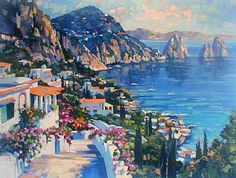 Isle of Capri 2000 by Howard Behrens