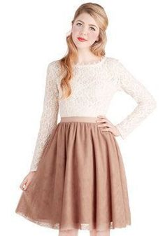 Jupon en tulle : nice Jupon en tulle : Turning in Tulle Skirt in Dusty Rose #ModCloth 50% off