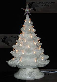 Mother Of Pearl White Christmas Ceramic Christmas Tree 16 inches Summer Christmas, Coastal Christmas, Elegant Christmas, Christmas Bells, White Christmas, Christmas Tree Ornaments, Christmas Crafts, Christmas Stuff, Christmas 2019