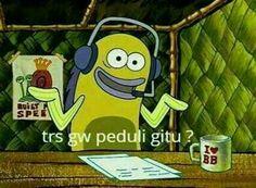 New Memes Spongebob Tapi Boong Ideas Cartoon Jokes, Memes Spongebob, Memes Funny Faces, Funny Kpop Memes, New Memes, Love Memes, Hahaha Meme, Memes Lindos, Cute Jokes