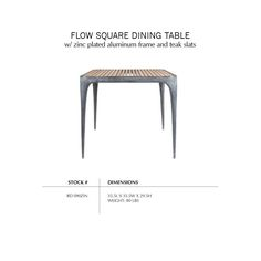 #2 dining table option