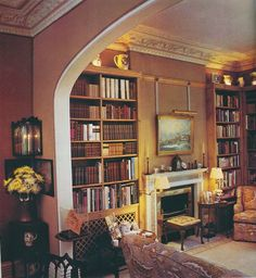 Country house in London by Tom Parr  of Colefax and Fowler