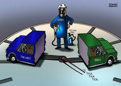 كاريكاتير ذا ناشيونال (الإمارات)  يوم الخميس 20 نوفمبر 2014  ComicArabia.com (Beta)  #كاريكاتير