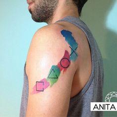 Creative tattoo by Anita...