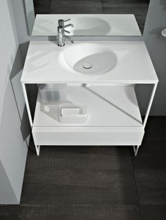 MORPHING #bathroom collection designed for Kos | #Palomba #design