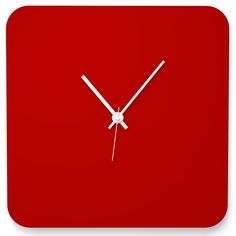 Wall Clock QUADER by Wandkings