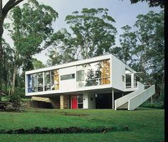 Built for his parents. Rose Seidler house, 1948, Waroongha