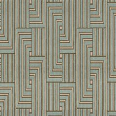 Louvered Maze 13 by Groundworks Fabric