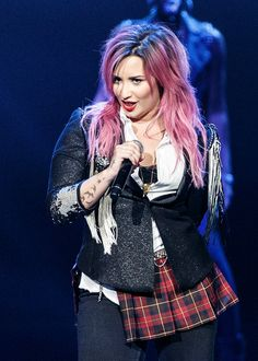 Demi Lovato The Neon Lights Tour Opener In Vancouver, BC