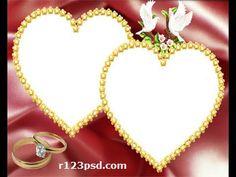 Wedding photo frames 35  Boda marcos, Casamento quadros, Hochzeitsfotorahmen, De mariage encadre - YouTube