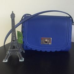FINAL SALE! Kate Spade blue small purse  Gorgeous This is a beautiful BRAND NEW with TAGS Kate Spade purse ! It is so beautiful and perfect for a gift especially for mothers day around the corner! kate spade Bags Crossbody Bags