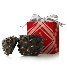 Thymes Frasier Fir Pinecone Poured Candle,    #FortheKitchen,    #0139-12-13