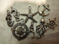 Nautical Charm Mix by AGothShop on Etsy, $2.50