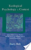 In this book Harry Heft examines the historical and theoretical foundations of James J. Gibson's ecological psychology in 20th century thought, and in turn, integrates ecological psychology and analyses of sociocultural processes.