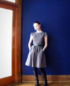 Calico dress: Simplicity 2591 « Green apples