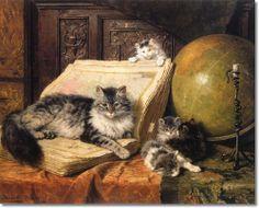 Il mondo di Mary Antony: Gli aristocratici gatti di Henriette Ronner-Knipp
