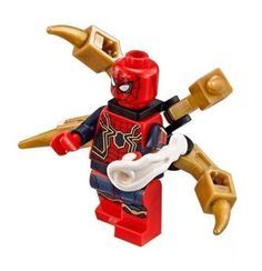 LEGO Avengers Infinity War 76108 Iron Spider-Man Minifigure Marvel Super Heroes Contains af. Lego Spiderman, Lego Marvel's Avengers, Lego Marvel Super Heroes, Marvel Infinity, Avengers Infinity War, Legos, Marvel Comics, Iron Spider, Lego Movie