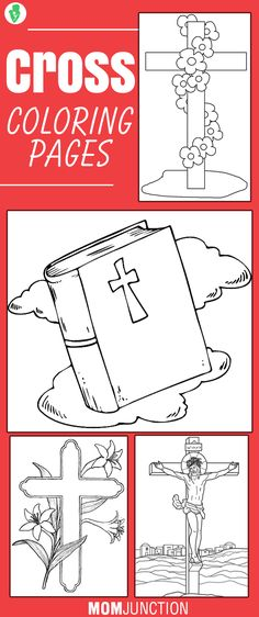 Free Printable Cross Coloring Pages | Adult Coloring Pages ...