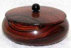 Image result for wood turning boxes pictures