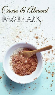 DIY Cacao Facemask with Almond