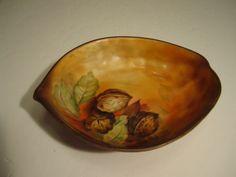 Nice Old Nippon Acorn Shaped Master Porcelain Nut Bowl   eBay