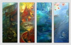 the 4 elements. i like earth and fire most 4 elements Summer Backgrounds, Abstract Backgrounds, Abstract Art, Wicca, Feng Shui, 4 Elements, Vida Natural, Everything Is Connected, Amazing Paintings