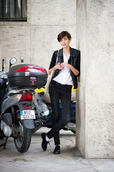 Amra Cerkezovic - The Cut Paris Fashion week
