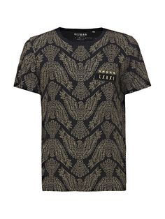 f97e2b15afca6 PATTERNED T-SHIRT on Guess.eu
