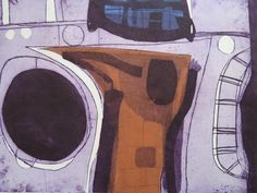 JOHN BRUNSDON (1933-2014) LIMITED EDITION ETCHING pencil signed RARE ABSTRACT #Abstract Color Wow, Colour, 21st Century Homes, Painting & Drawing, Printmaking, Pencil, Tempera, Watercolor, Abstract