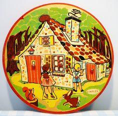 Simplex houten Hans & Grietje nopjespuzzel. Deze hadden wij ook vroeger.