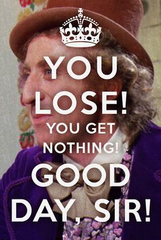 I love Johnny Depp, but he has NOTHING on Gene Wilder in Willy Wonka. He is the BOMB.